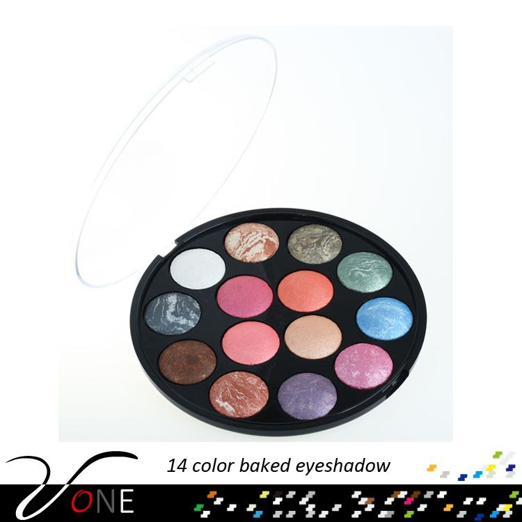 Ads cosmetics 14 colors baked eyeshadow on sale