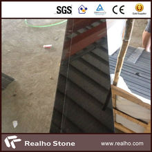 Polished Chinese antique royal absolute black granite