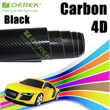 New products Super quality Car body sticker Type and PVC Material 4D carbon fiber vinyl film