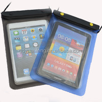 Waterproof pvc bag pouch bag for ipad tablet pc with strap