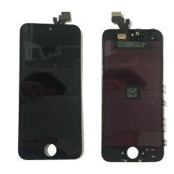lcd screen wholesale touch new original display pass cheap foxconn phones for iphone 5 digitizer with 5g black price combo