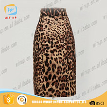 wholesale pencil Maxi Skirt leopard print 40's 60's women pinup clothing hippie boho kleidung pin up dropship