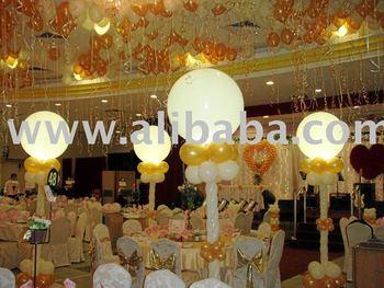 Wedding balloons decoration buy wedding balloon bulb for Balloon decoration for wedding malaysia