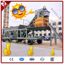 Mobile modular type belt conveyor full automatic ready-mixed beton batching plant 50m3/h
