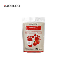 2018 new arrivals healthcare japanese gold detox foot patches