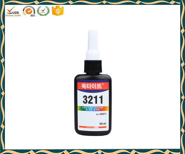 High quality UV glue for glass to plastic 3211 UV cure adhesive