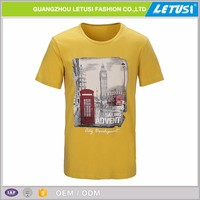 Pure Color Ringspun Iron Man Clothing T-Shirt