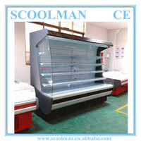 Widely Used Open Style Multi-deck Refrigerators