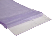 Made in China modern fashion wedding organza table runners