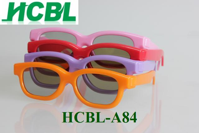plastic frame 3d movies passive 3D glasses polairzed glasses