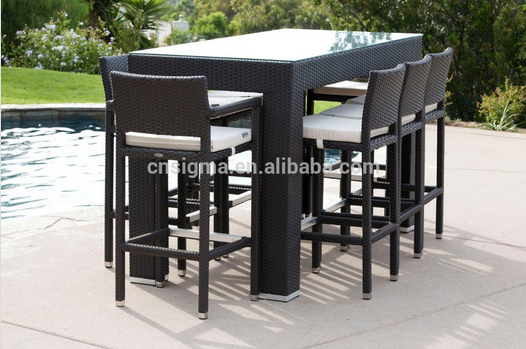 2017 Trade Assurance most popular stylish design outdoor rattan new style discount garden furniture
