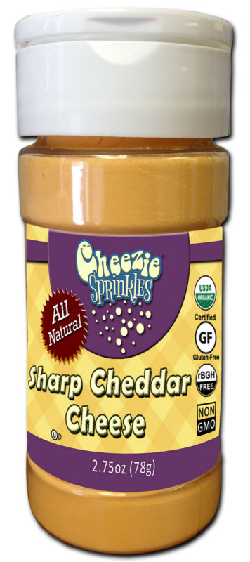 Cheezie Sprinkles - Sharp Cheddar Cheese