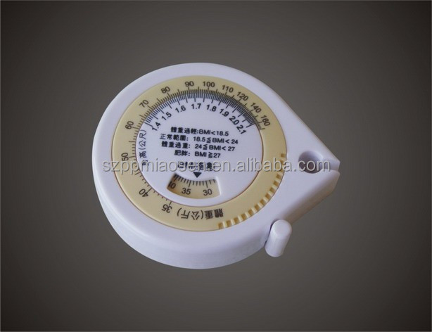 Novelty promotional items measure tailoring tapes measure BMI Creative gifts