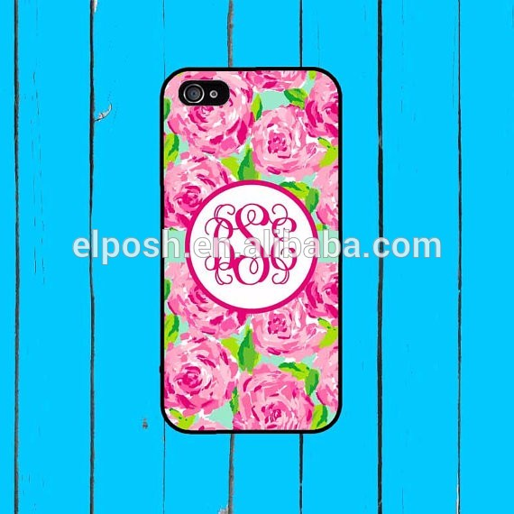 Wholesale Fashionable Monogrammed Lilly Phone case