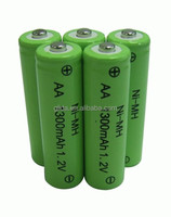 Reliable NiMH 1300mah Battery Rechargeable Manufacturer with CE,ROHS,UL certificates