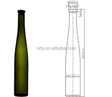 375ml Riesling white wine glass bottle