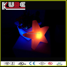 Fancy and innovative christmas decoration gift, glowing LED Star design for christmas