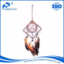 Alibaba Trading High Quality Free Sample Feather dream catcher. Indian dream catcher