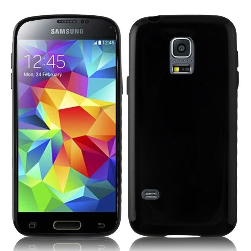 For Samsung Galaxy S5 mini plain gel TPU soft case, <strong>DHL</strong> free shipping