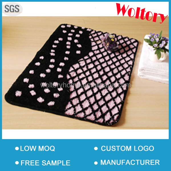Romantic Lace Promotion gift Bath mat set with accessories set and shower curtain
