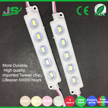 home used CE/Rohs DC12V 0.72W Waterproof 3 Chips 5050 SMD LED Light Module
