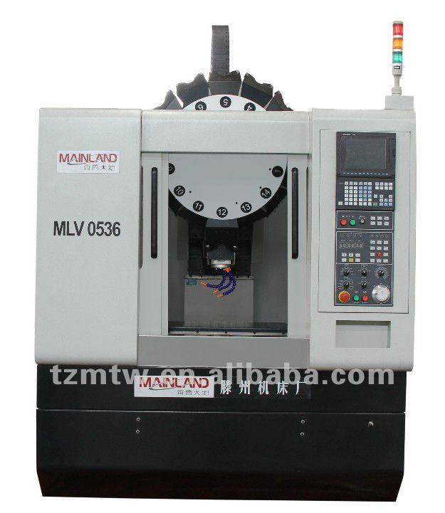 UNIVERSAL HIGH PRECISION CNC TAPPING CENTER MLV SERIES