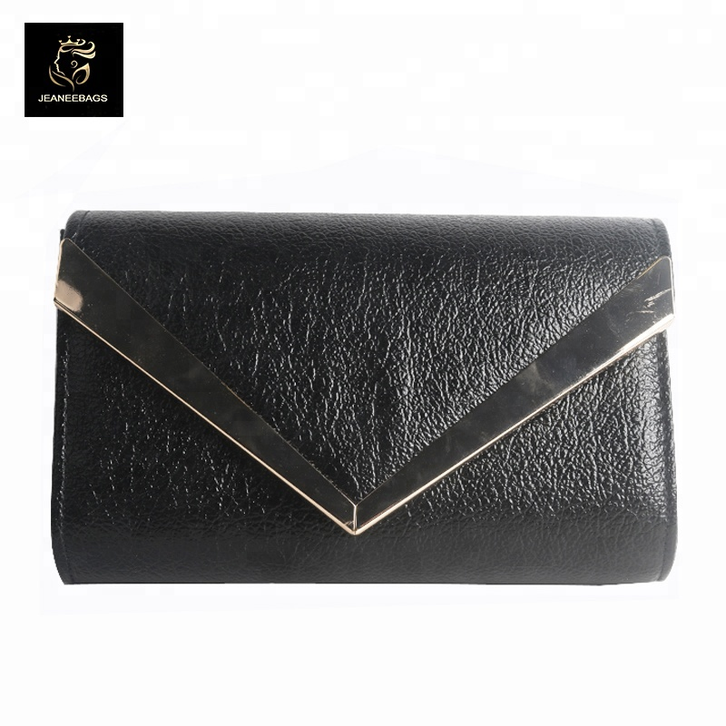 hardware edge clutch women bags <strong>shoulder</strong> with rectangle