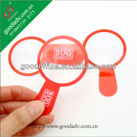 Attractive design export product environmental protection ultrathin pvc magnifying glass