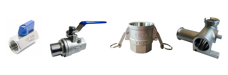 high pressure Stainless Steel 304/316 threaded 800/1000psi 4 way ball valve