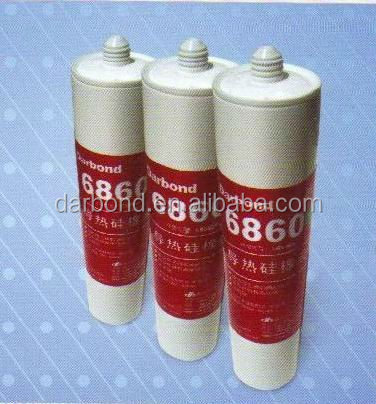 White Paste One Component Thermal Conductive Silicone Adhesive