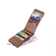 New design hot sale concise PVC card holder