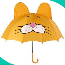 Factory Price Promotions tiger Shaped Children umbrella