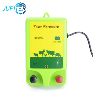 1J UV plastic solar power pasture energizer for electric fence
