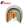 Top quality OEM KNTECH industrial acoustic hood, telephone roof RF-14 anti-noise telephone booth phone enclosure