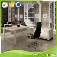 Popular Item OEM Custom Office Manager Desk MDF Office Furniture Market Size