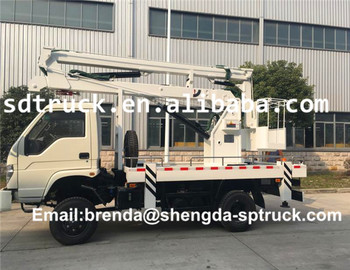FOTON 12M/14M/16M Aerial Work Platform Truck convenient operation