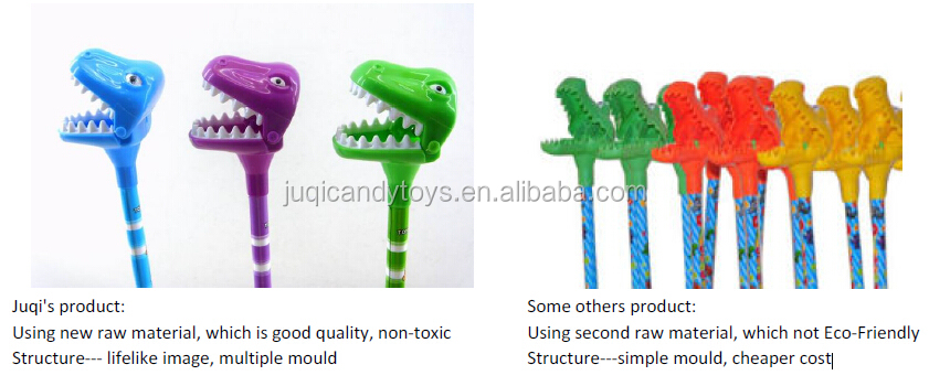 2018 New packing Novelty Big Mouth Dinosaur Grabber Cartoon Toys Promotional EN71