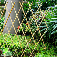 natural dry small bamboo gate