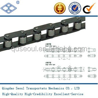 Small or Large Roller Type double pitch conveyor chain