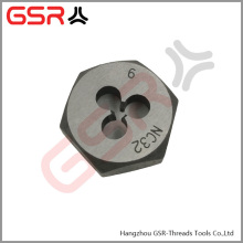 DIN382,HSS, Alloy steel hexagonal thread die nut