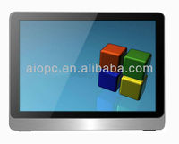 19 inch 3G/wifi lcd all in one pc touch screen computer