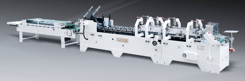 GK-650/780BA Full Automatic Paper Folding Machine for Cardboard Box Gluing