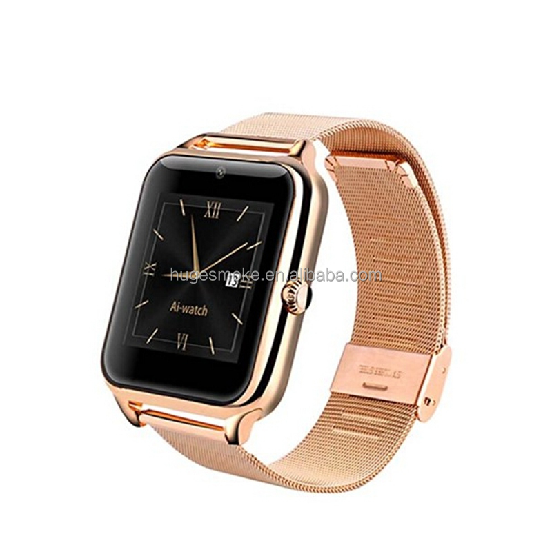 2016 Newest fashion Bluetooth Smart Watch Z50 reloj inteligente with Camera SIM Facebook Twitter Smartwatch for Android Phones