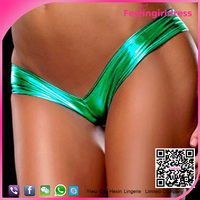 Wholesale Dropshipping 6 Colors Shiny G String Women Sexy Panty