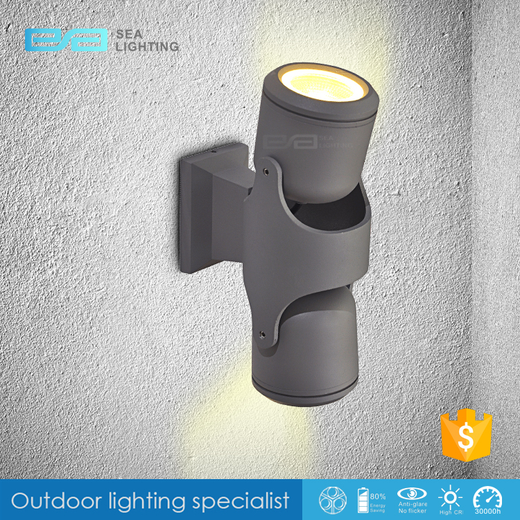 Hot Outdoor IP65 classic wall lamp 6W 600lm outdoor double head light 3210717