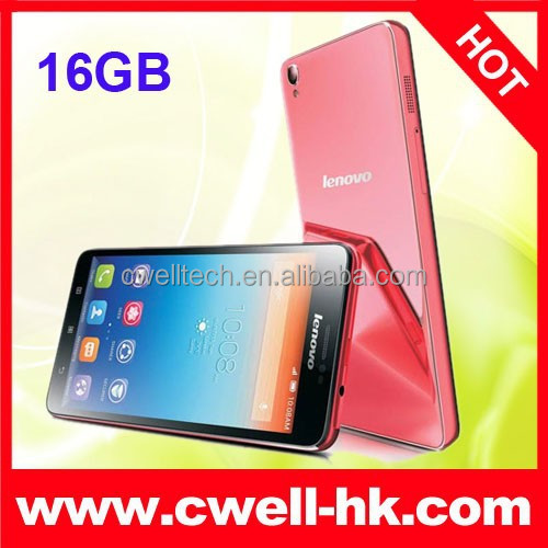 5 Inch Screen Glass Shell Unlocked Lenovo S850 Android Smartphone