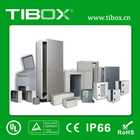 Stainless Steel IP65 Protection Grade Customized Lockable Wall Mount Telecom Cabinet / Rack Enclosure