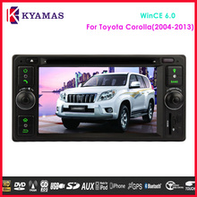 6.2'' 2Din in Dash Universal Toyota Car DVD GPS Player for Camry Corolla Hilux Prado Hiace RAV4
