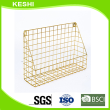 factory price metal wire mesh hanging basket for kitchen use