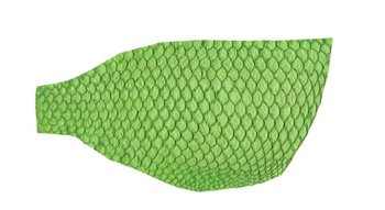 Soft Tilapia Leather Green